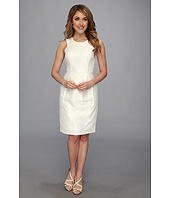 Vince Camuto - Fitted Embossed Jacquard Dress
