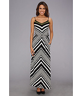 Vince Camuto - Chevron Blouson Maxi Dress