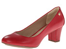Hush Puppies - Imagery Pump (Red Leather) - Footwear