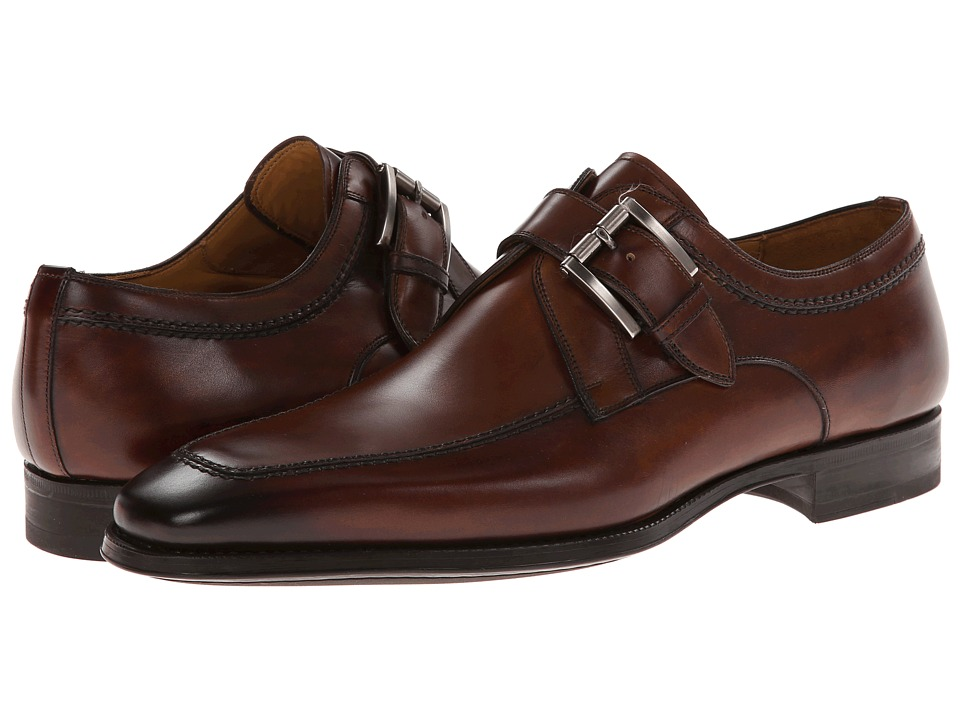 Magnanni Mauricio (Mid-Brown) Men's Shoes