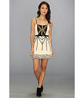 Free People - Lace Coquette Mini Dress