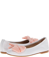 Fendi Kids  Flat With Coral Bow And Strap (Little Kid/Big Kid)  image