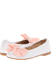 Fendi Kids  Flat With Coral Bow And Strap (Toddler)  image