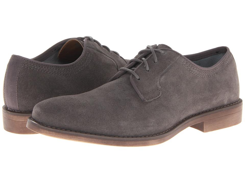 Calvin Klein Jeans Oran Dark Grey Suede Mens Plain Toe Shoes