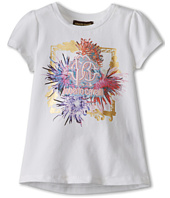 Roberto Cavalli Kids - S/S Tee With Mutli Colored Logo Graphic (Toddler/Little Kids)