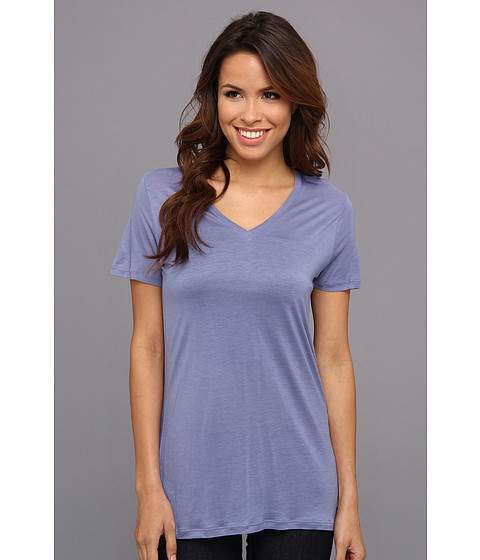 Calvin Klein Jeans Solid V Neck Tee French Blue
