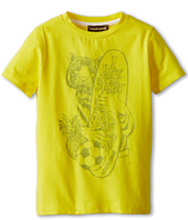 Roberto Cavalli Kids - Boys S/S Tee With Tiger and Surfboard (Toddler/Little Kids)