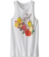 Stella McCartney Kids - Valentine Girls Tank W Leopard And Flower (Toddler/Little Kids/Big Kids)