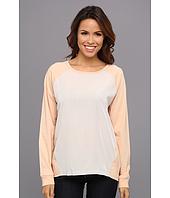 Calvin Klein Jeans - L/S Woven Front Sweatshirt
