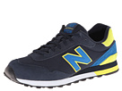 New Balance Classics ML515 Black, Blue 2 Shoes