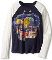 Stella McCartney Kids - Max Boys Raglan Tee With Truck And Leopard (Toddler/Little Kids/Big Kids)
