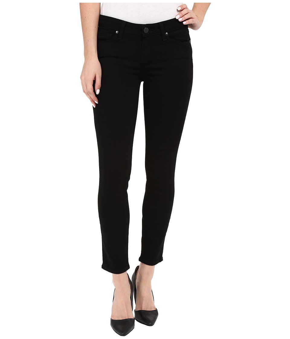 Paige - Verdugo Crop in Black