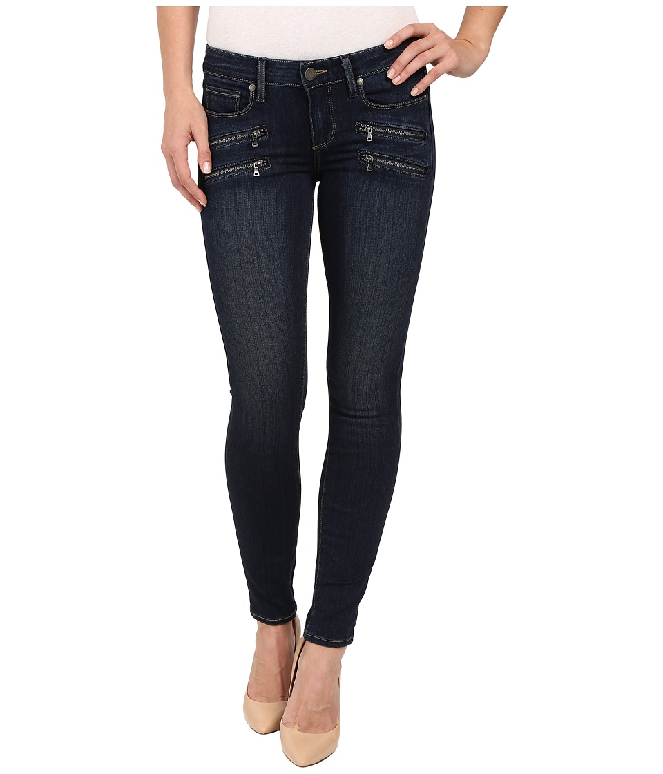 Paige Edgemont Ultra Skinny Transcend Denim in Nottingham Nottingham Womens Jeans