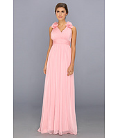 Adrianna Papell - Long Irri Chiffon w/ Rosette Shoulders (Bridesmaid)