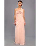 Adrianna Papell - Long Irri Chiffon Rosette One Shoulder (Bridesmaid)