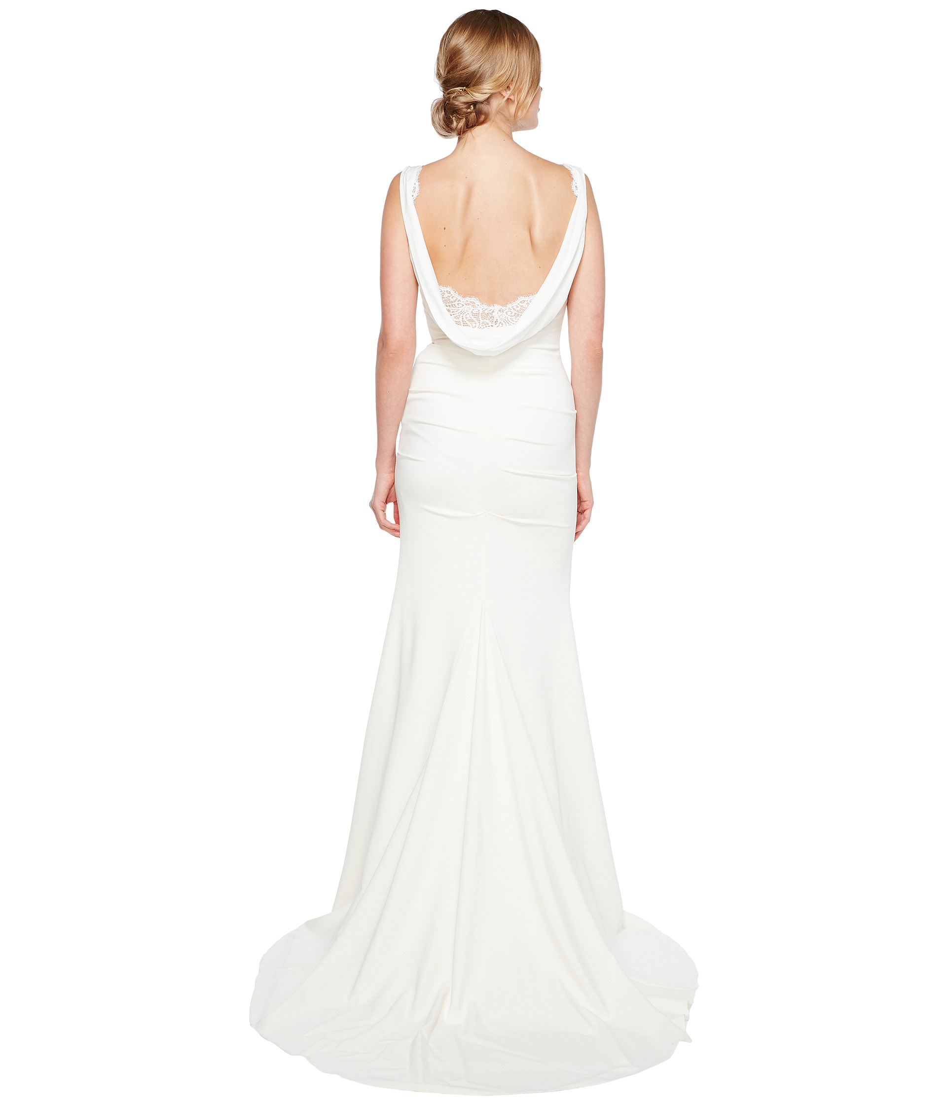 Nicole miller nina bridal gown free shipping for Nicole miller dresses wedding
