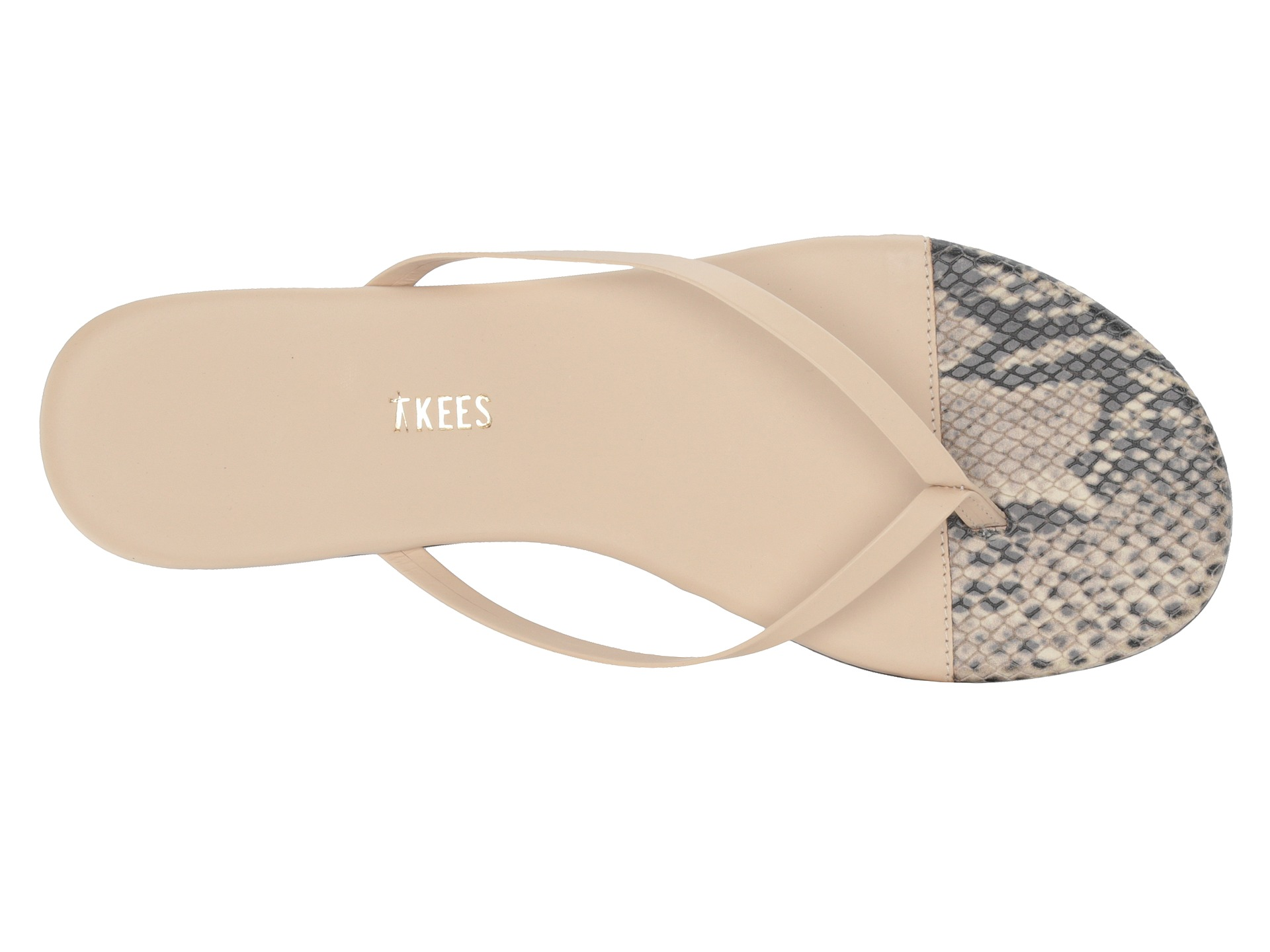 TKEES Flip-Flop-French Tips at Zappos.com