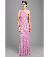 Adrianna Papell - Beaded One Shoulder Gown (Prom)