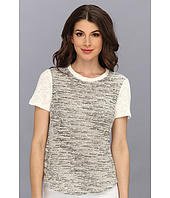 Rebecca Taylor - Short Sleeve Tweed Top