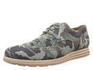 Cole Haan - LunarGrand Wing Tip (Forest Multi/Camo Suede)