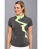 Jamie Sadock - Laurie Heathered with a Lightning Bolt Short Sleeve Top
