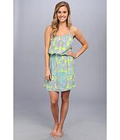 Josie - Glamour Floral Rayon Challis Skimmer