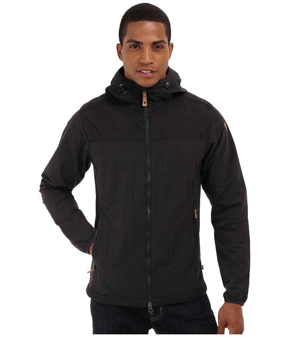 Fj llr ven Abisko Hybrid Jacket Dark Grey Mens Coat