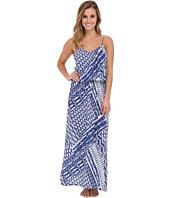 Josie - Ikat Printed Rayon Challis Nightgown