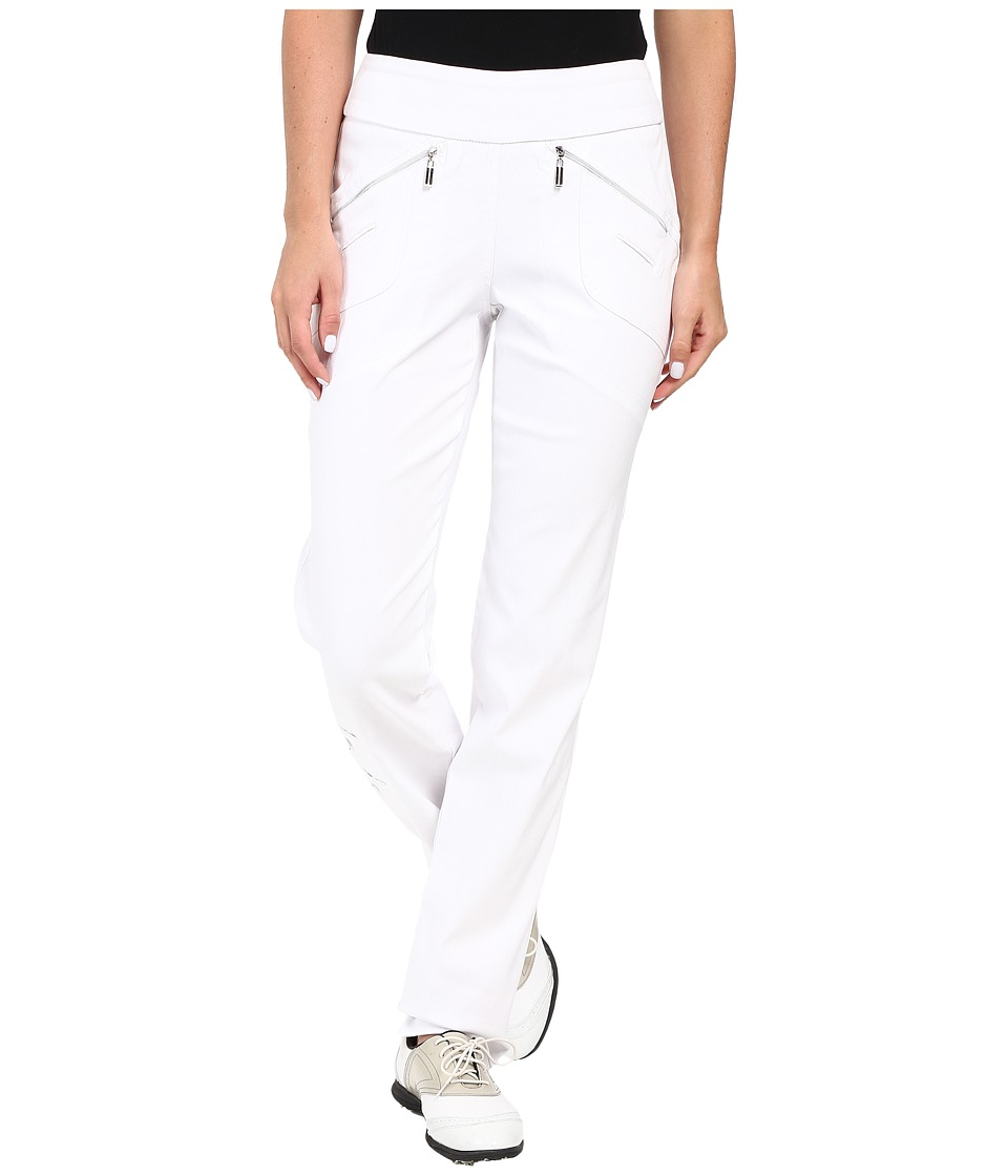 Jamie Sadock Jamie Sadock - Skinnylicious 41.5 in. Pant with Control Top Mesh Panel