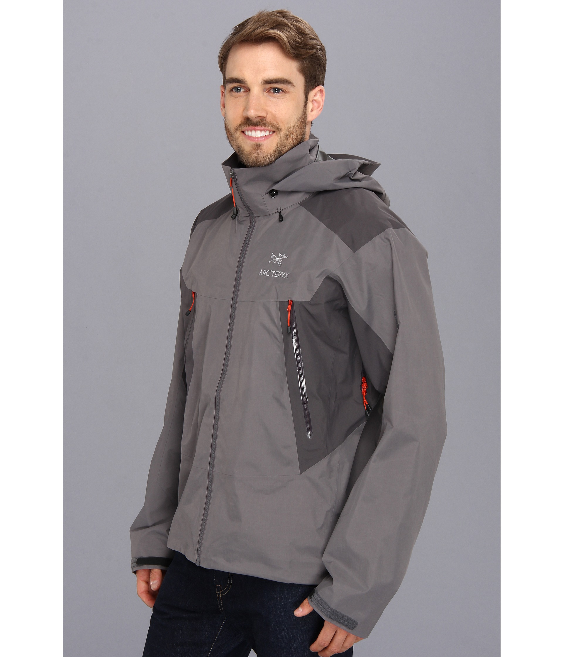 arcteryx beta lt hybrid jacket anvil grey shipped free at zappos. Black Bedroom Furniture Sets. Home Design Ideas