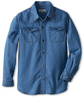 Stella McCartney Kids - Daniel Boys Denim Button Down Shirt (Toddler/Little Kids/Big Kids)
