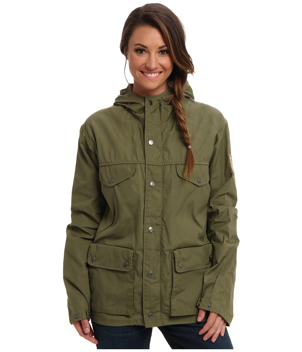 Fjallraven Greenland Jacket (Green) Women