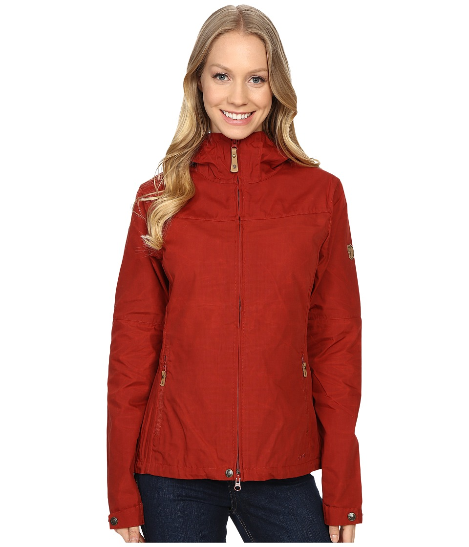 Fjallraven Stina Jacket (Deep Red) Women