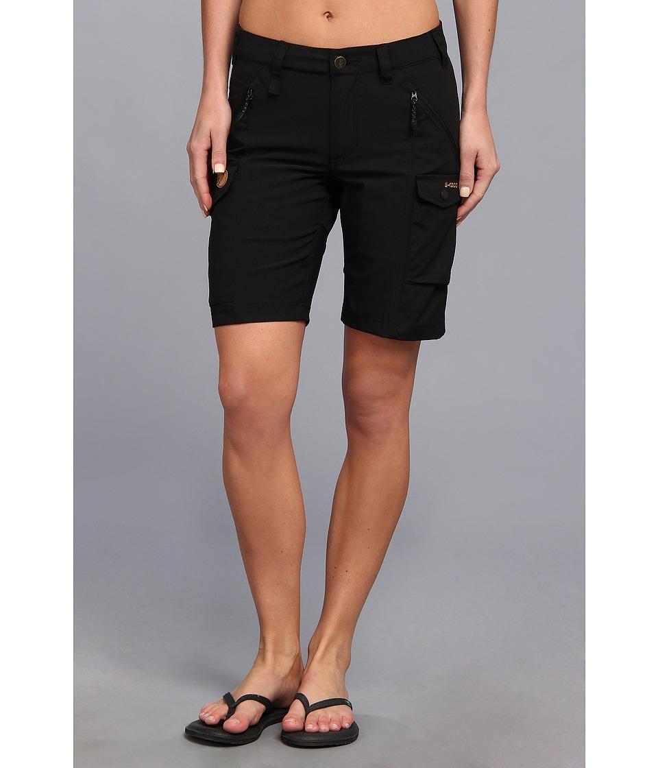 Fjallraven - Nikka Short (Black) Womens Shorts