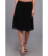 Calvin Klein - Pintuck Short Polyester Chiffon Skirt