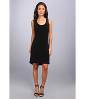 Calvin Klein - S/L High-Low Shirt Matte Jersey Dress