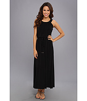 Calvin Klein - S/L Maxi Matte Jersey (Dry) Ao Dress