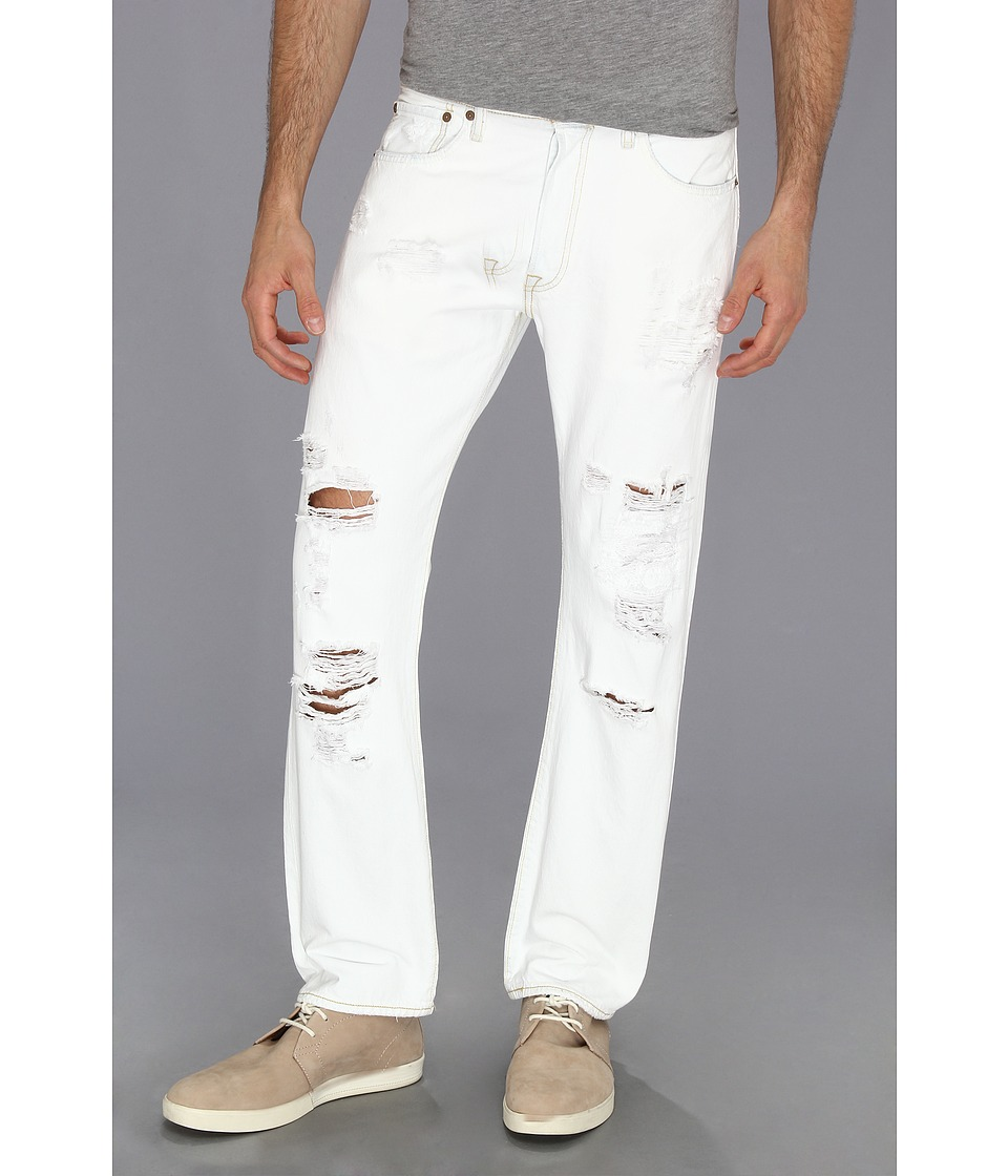 Levis(r) Mens - 501(r) Original (Trashed) Mens Jeans