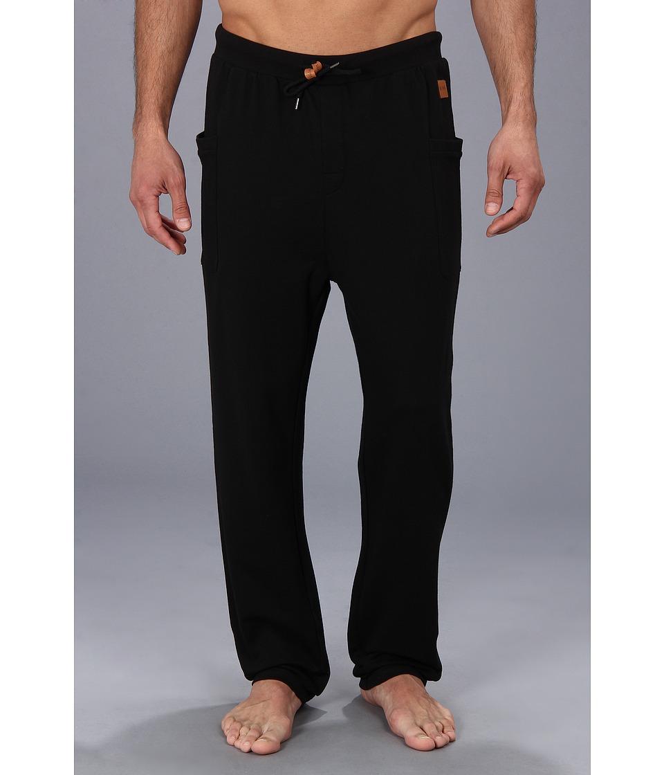 BOSS Hugo Boss Long Pant BM 1016654 Black Mens Pajama