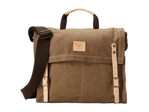 Will Leather Goods Wax Canvas Messenger