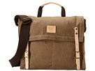 Will Leather Goods Wax Canvas Messenger (Khaki)
