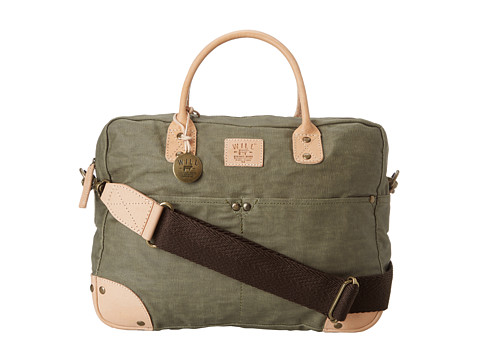 Will Leather Goods Wax Canvas Flight Bag
