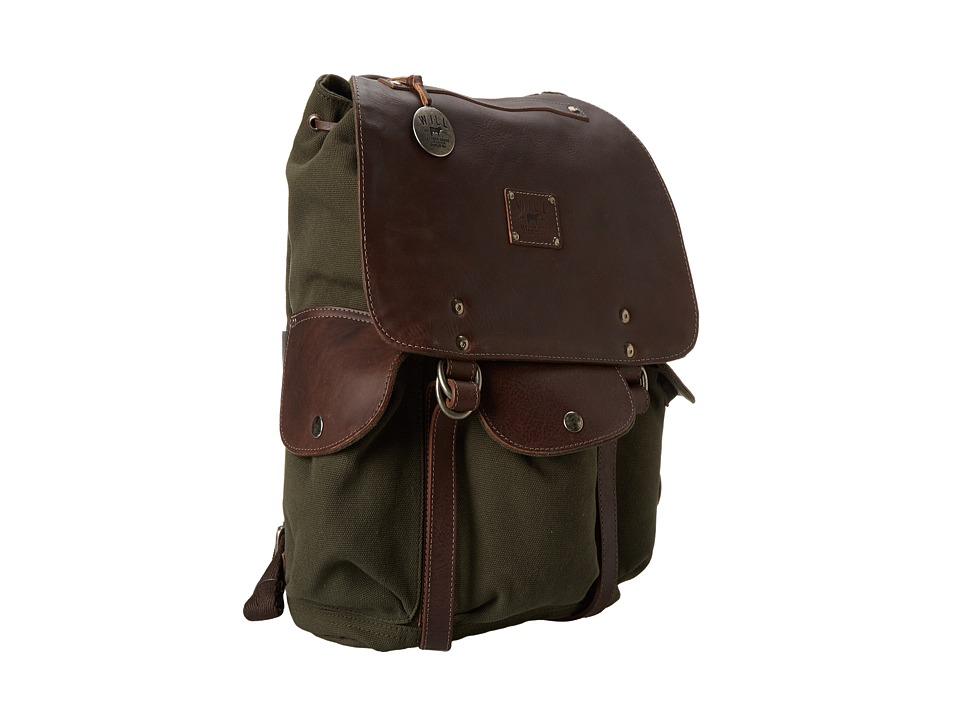 Will Leather Goods - Lennon Backpack (Loden) Backpack Bags