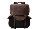 Will Leather Goods Lennon Backpack (Black/Brown)