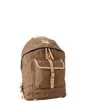 Will Leather Goods - Wax Canvas Dome Backpack