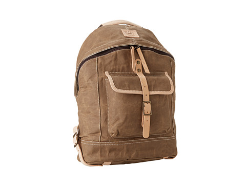 Will Leather Goods Wax Canvas Dome Backpack