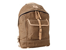 Will Leather Goods Wax Canvas Dome Backpack (Khaki)