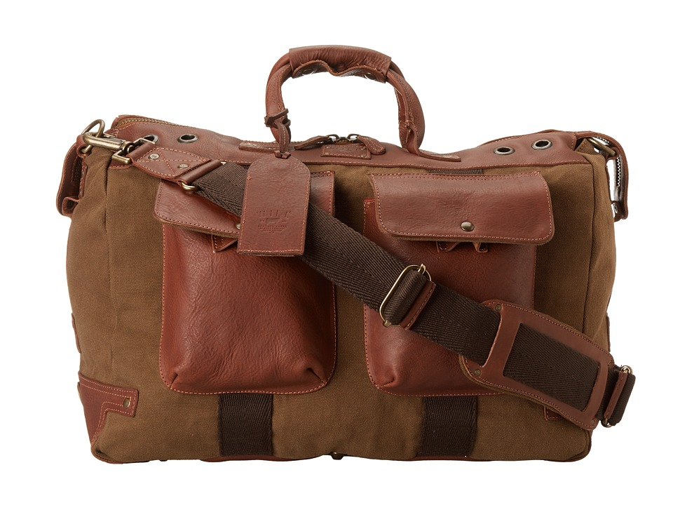 Will Leather Goods - Traveler Duffle (Tabac) Duffel Bags