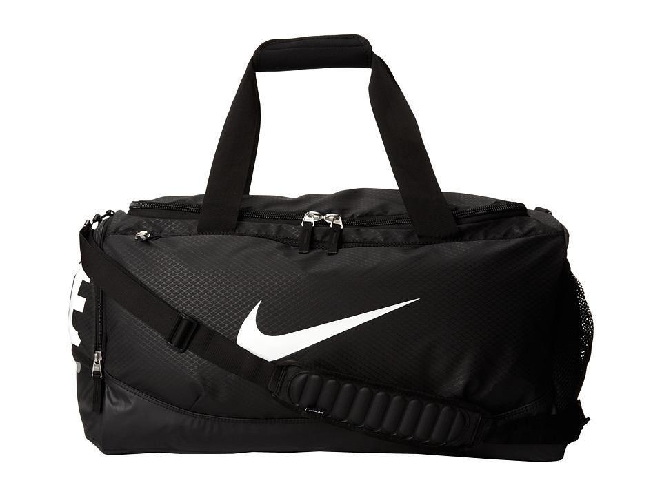 Nike Team Training Max Air Medium Duffel Black/Black/White Multi Snake Duffel Bags