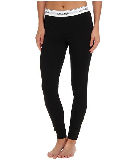 calvin klein underwear modern cotton legging black free shipping both ways